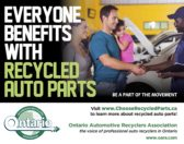 Everyone benefits with Recycled Parts