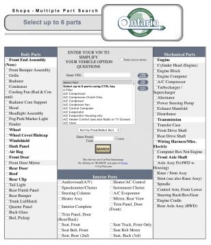 find your parts ontario automotive recyclers association