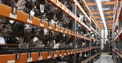Parts warehouse