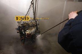 Engine washing
